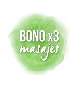 Bono - 3 sesiones de Masaje Relajante
