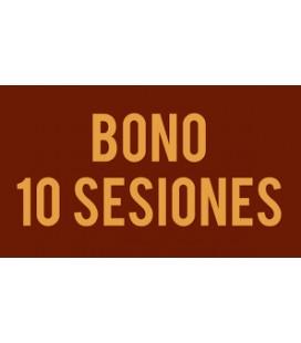 Bono de 10 sesions (compartible)
