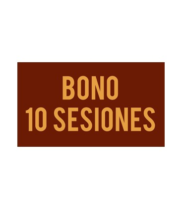 Bono de 10 sesions (compartible)